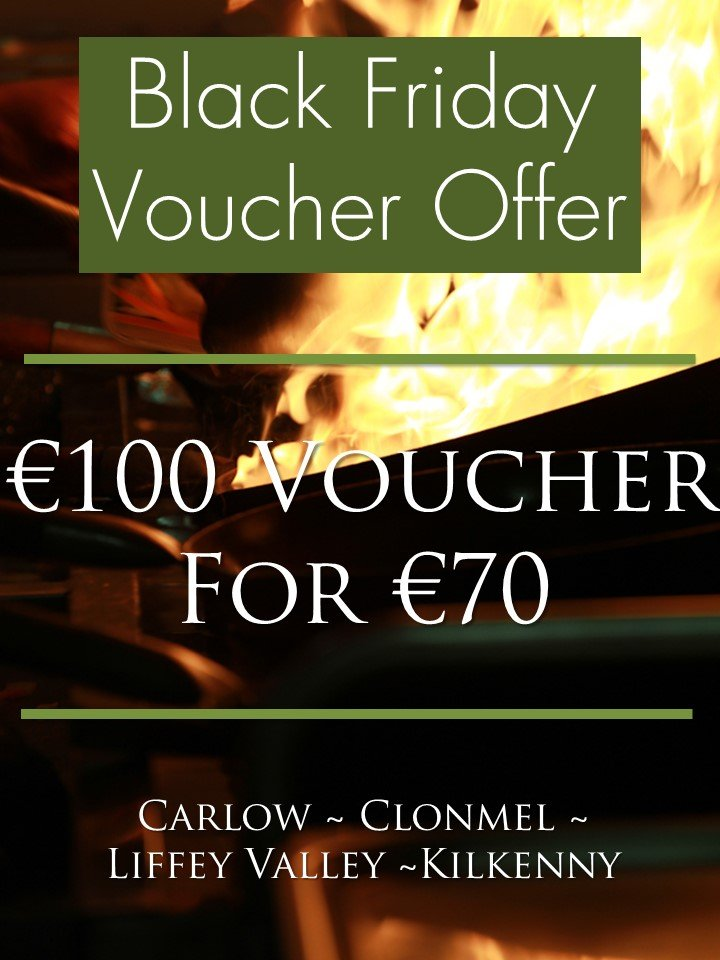 Image for Black Friday Offer - €100 Voucher for €70